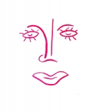 Pink Lady Face by SOLLOG